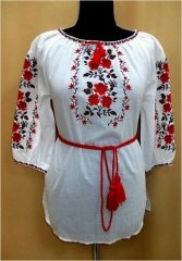 """Bouquet of Roses"" blouse - фото"