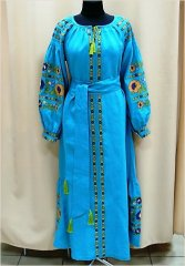 """Borshchiv colors"" dress - фото"