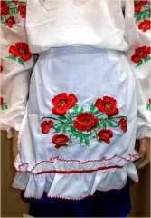 """Poppy field"" apron - фото"